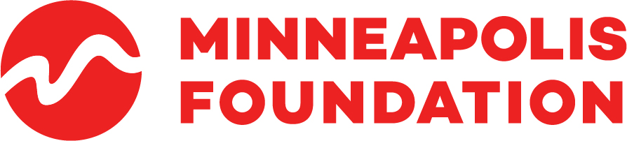 Red logo for Minneapolis Foundation